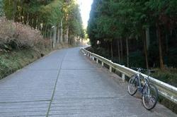 富岡への登り
