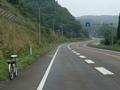 福島トンネルへ