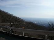牛石峠からの眺め