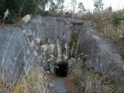 大入隧道へ到着