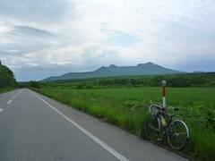 駒ケ岳を望む